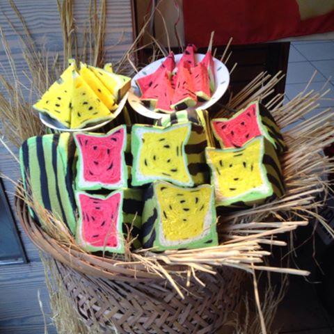 這是什麼啊~是西瓜還是麵包?