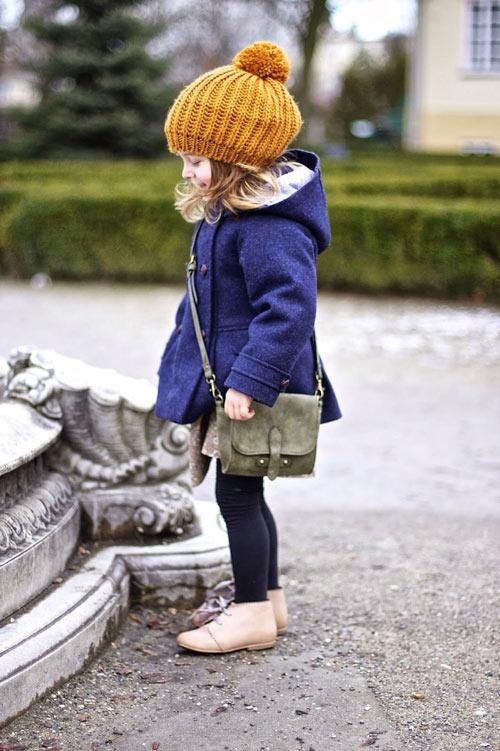 進入變冷秋冬時,寶貝也要換季,戴上可愛甜美的毛帽>///<
