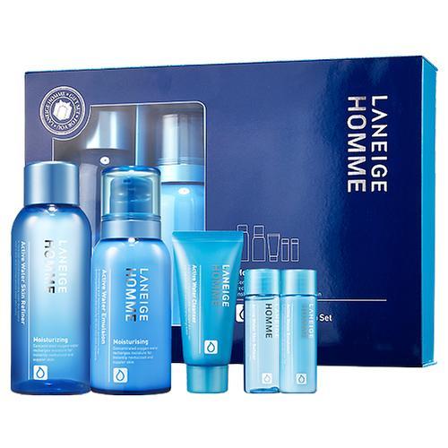 #蘭芝(LANEIGE) HOMME 2007年,蘭芝男士化妝品問世, 帶給存在皮膚問題的男士們最佳解決方案