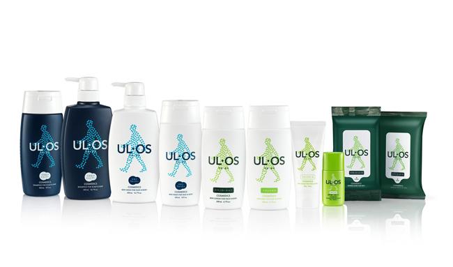#ULOS 日本也有專門的男性系列, 日本本土大塚製藥ULOS推出的男士護膚品 在韓國由韓劇《請回答1994》中「垃圾」一角的鄭宇代言