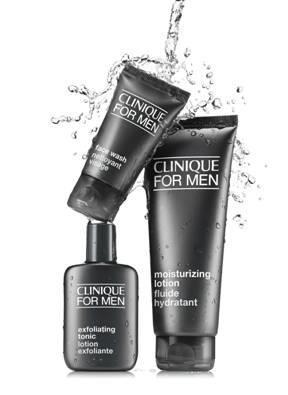 #倩碧(Clinique) for men  倩碧知道男生很懶(XD), 所以推出透過簡易、直接的護膚步驟, 達到告訴快捷的護膚功效。