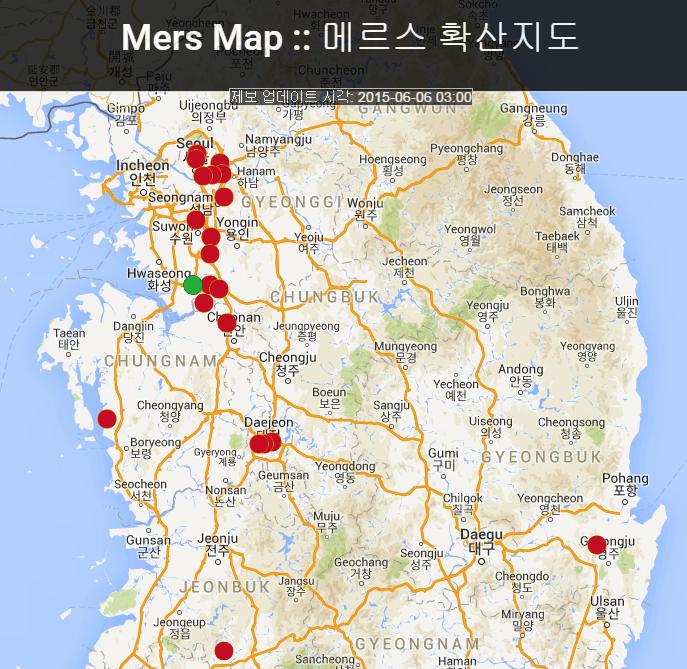 雖然傳出了超過40人以上的感染者~ 但是大部分是首爾市區外