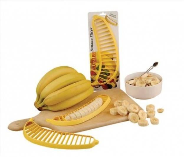 當然也有香蕉專用的香蕉形狀切片板:)