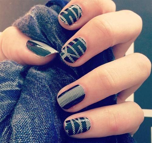 8. 藝術美甲照 指尖上的藝術,怎摸能夠忘記拍個照留念呢? 當然要上傳啦!!! (#nail #nailart #life ♥♥♥)