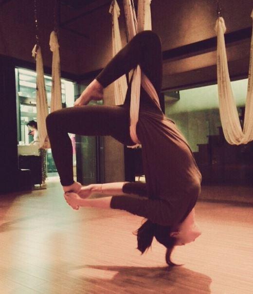 雖然她是韓國體育大學畢業 但就讀的其實是生活舞蹈系啦~