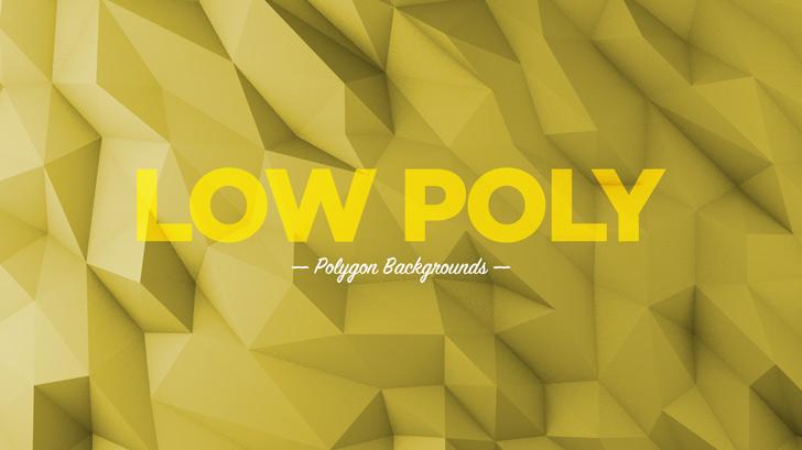 那就是~ 2015年國外設計圈很流行的一種風格「LOW POLY ART」!!!!!!!