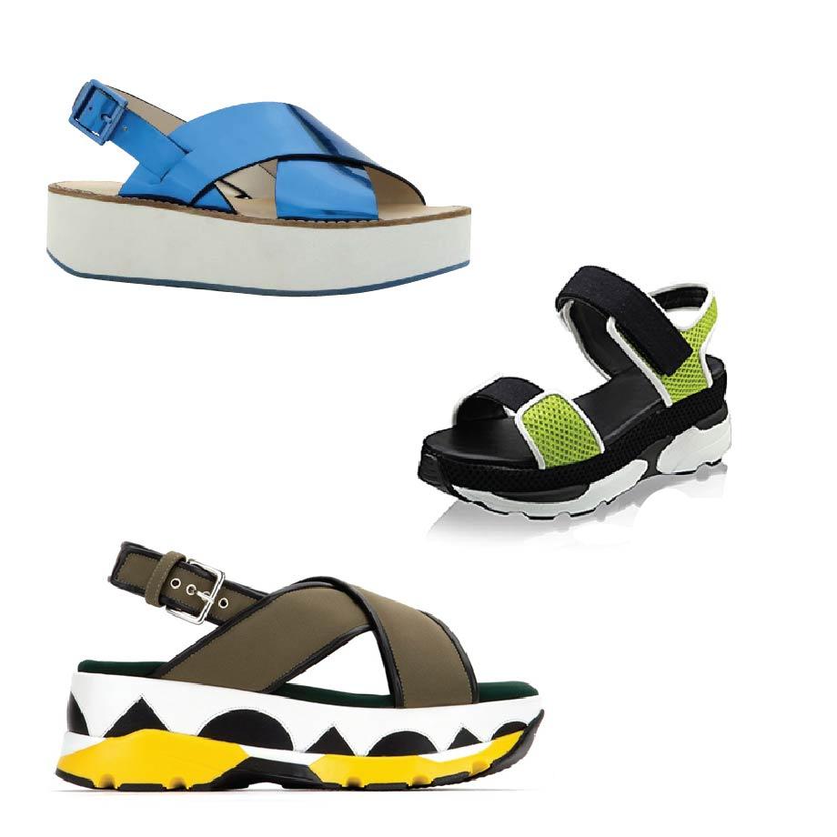 運動風涼鞋的最大優點就是「輕便、好穿」! 運動鞋的優勢+時尚造型的設計! 可說是一石二鳥的最佳設計呢~ 男生也可以入手,所以也是許多人情侶鞋的首選唷!