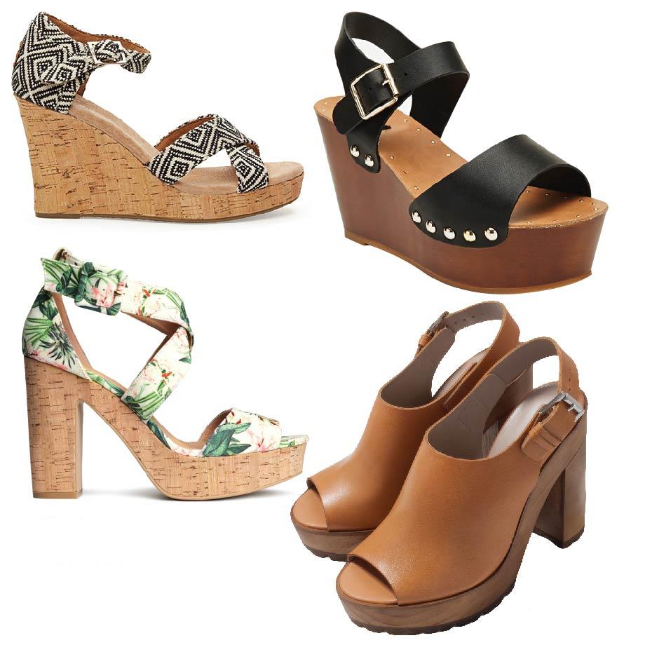 Clog搭配上波西迷亞風,簡直是完美組合! 因為Clog這種鞋款由原木製成,因此多少有點重量, 選擇的時候最好是選擇可以抓緊腳脖子的設計唷~