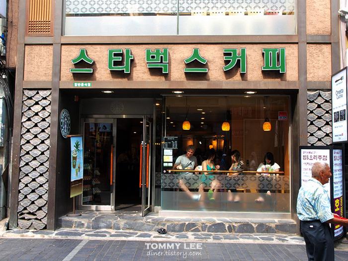 為了配合韓字文化 還有世界獨一無二的韓文招牌星巴克 (就在仁寺洞唷)