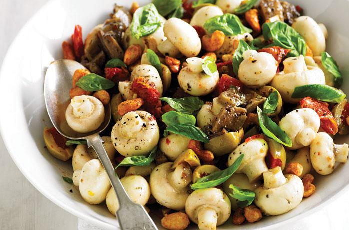 然後,菇類也有幫助降低血糖的效果唷! 可以幫助穩定心情,幫助腸道管理,促進益生菌生長,有很多好處呢! 有些人可能很不喜歡香菇~ 不過為了你的健康!記得要適當的補充唷:)