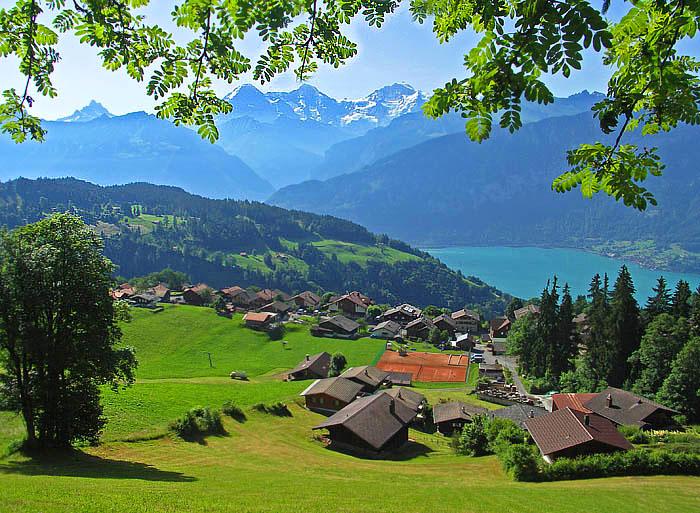 在瑞士有個寧靜的小村莊~