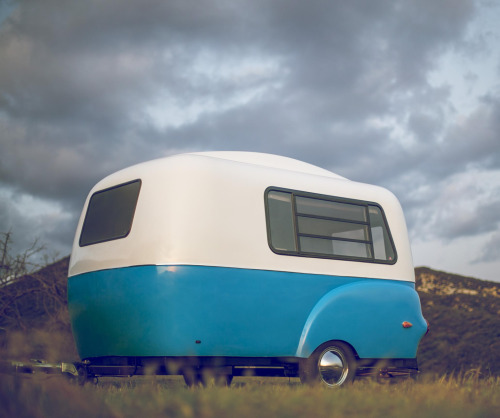 바로 이 쪼꼬미 캠핑카. Happier Camper라는 브랜드에서 나오는 미니캠핑카인데,