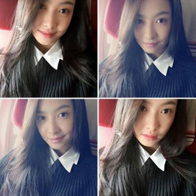 淡妝好美的Victoria~ 是1987年2月2日生~ 看不出來已經將近30歲了吧!?