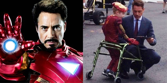 1.《鋼鐵人》小勞勃道尼 他不只是電影中的超級英雄《鋼鐵人》,重要的是他擁有一顆善良的心。對於公益一向不落人後的他,目前至少有十幾間慈善機構為他的捐贈對象。其中,這陣子最為人所知的即是「贈送機械手臂給一位獨臂小男孩」的溫馨事件。