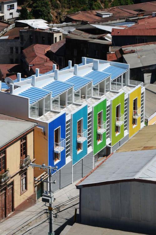 這裡位於智利,由智利當地的建築設計師所設計