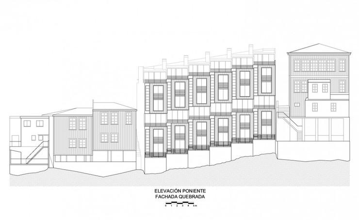 主要是配合當地傾斜的地形 想想看~這麼斜怎麼蓋房子?