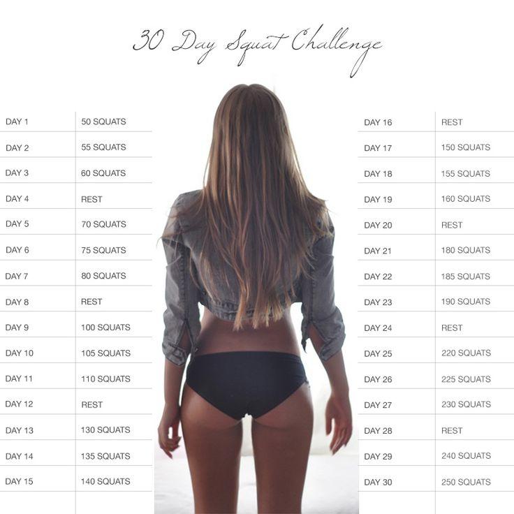 深蹲的肌力運動只要持續1個月好好做,就會有驚人的效果唷: )  一開始練習的美眉,因為腰部沒有肌力,如果覺得每個動作10回太勉強,也可以從自己可以接受的次數開始唷!