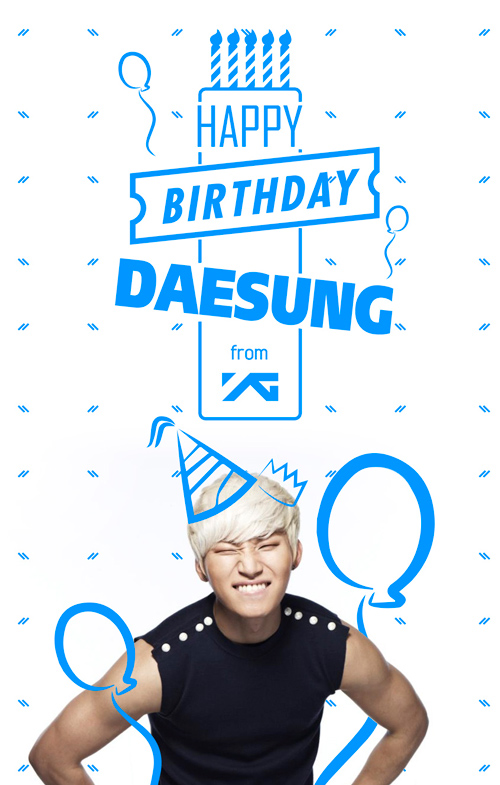 YG或是BIGBANG裡的開心果 大聲最棒的就是爽朗的笑容