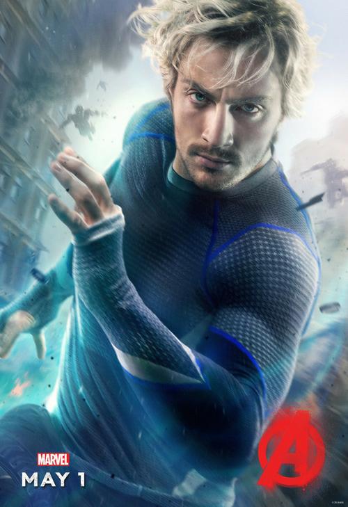 世界上速度最快的男人—快銀!!! 還有這次在《復仇者聯盟2》飾演快銀的這位男子!!!
