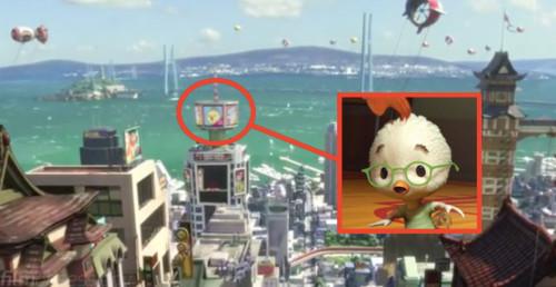 12. 《四眼天雞》也在廣告上!!!