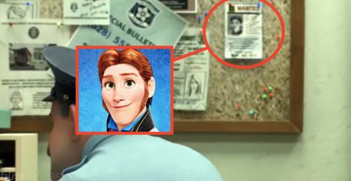 17. 《冰雪奇緣》的角色漢斯