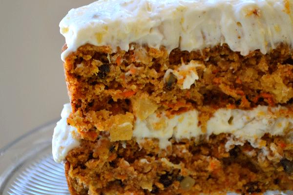 討厭紅蘿蔔的朋友們啊~一定要試試看紅蘿蔔蛋糕喔!