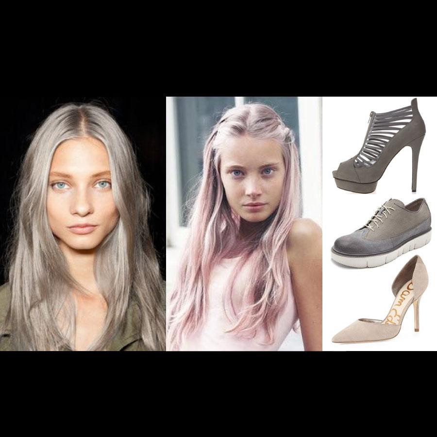ASH COLOR除了可以在頭髮上,展現十分神秘的顏色以外,在其他時尚配件上,也可以呈現出一種冷豔俐落的感覺唷!