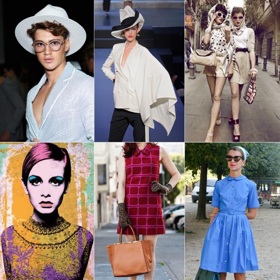 RETRO風格是將過去的衣服,與現代人的喜好搭配而呈現出全新感!所以「回顧」是這種風格的一種特徵!