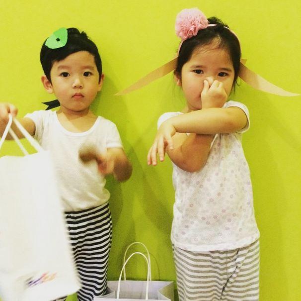 雖然韓國也有超紅超人氣的三胞胎大韓民國萬歲...
