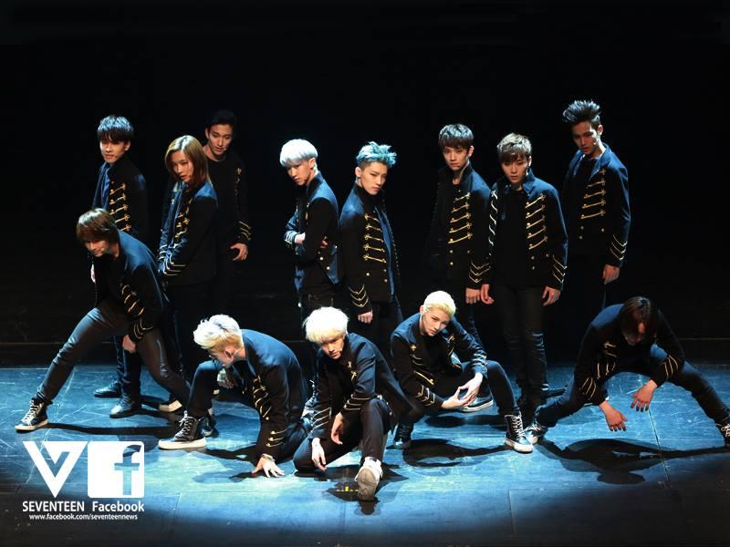 以主打歌《Adore U》出道,平均只有17歲的這組男孩團體是SEVENTEEN