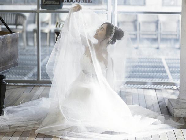 嚇!!!在齡智的Instagram上發現了婚紗照!!!!!!