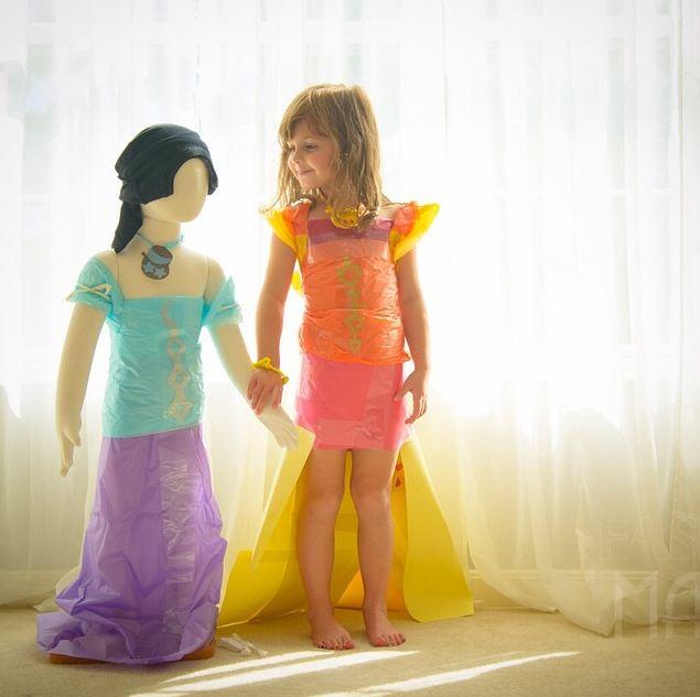 不要緊!因為裙子都是用「紙」做的!!!! 不但樣式多款~還很環保又省錢!