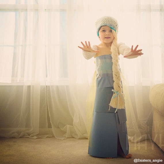 就連大人小孩都愛的《冰雪奇緣》的Elsa都沒問題!