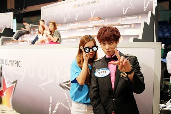 曾經參加過SBS綜藝節目《韓流奧林匹克》、《Star King》模仿GD的這位朋友~叫做趙圭民(音譯)