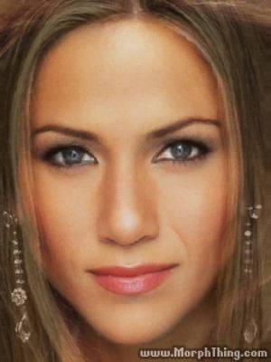 珍妮佛羅佩茲 X 珍妮佛安妮斯頓~感覺沒有特別變化,兩人應該是雙胞胎吧?