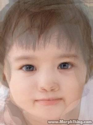 小編私心一下,用自己 + 姜東元歐霸的照片!!!!可愛吧~我們未來的女兒呢XDDDD