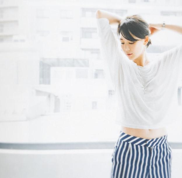 模特兒的專業就是不管什麼衣服穿在身上,都要完美呈現!