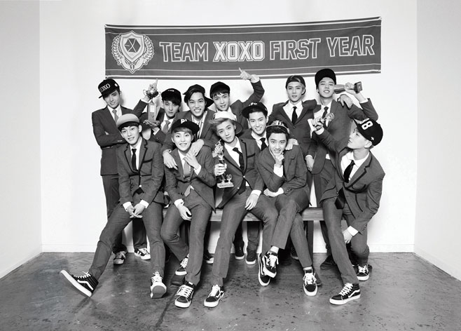 10. EXO:433天 奪冠歌曲:Wolf