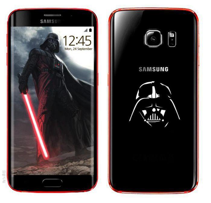 很酷的設計,黑配紅的代表顏色!尤其是手機背蓋的那個黑武士的輪廓!!!星際大戰的影迷們,絕對不能錯過的經典!!!(前提是這個設計有上市的話.......)