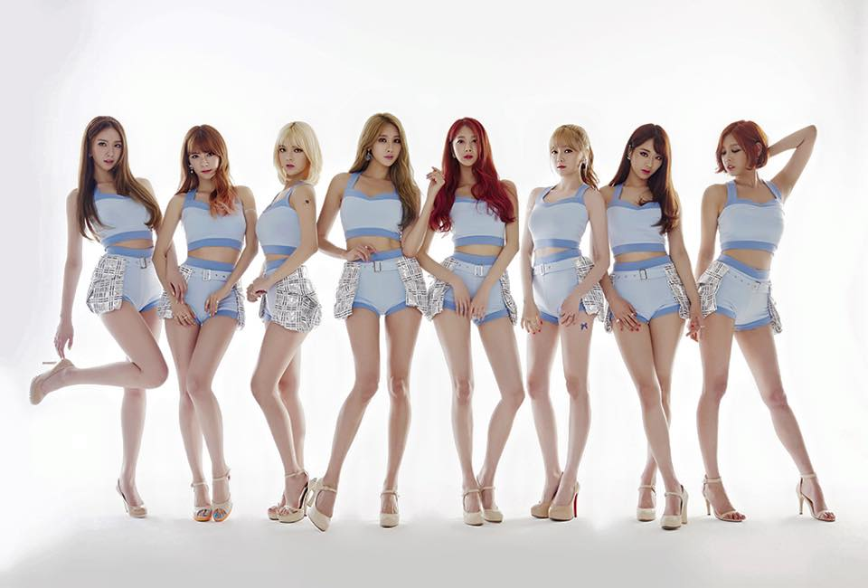 4. 9MUSES 'Hurt Locker' 發行: 2015.07.02