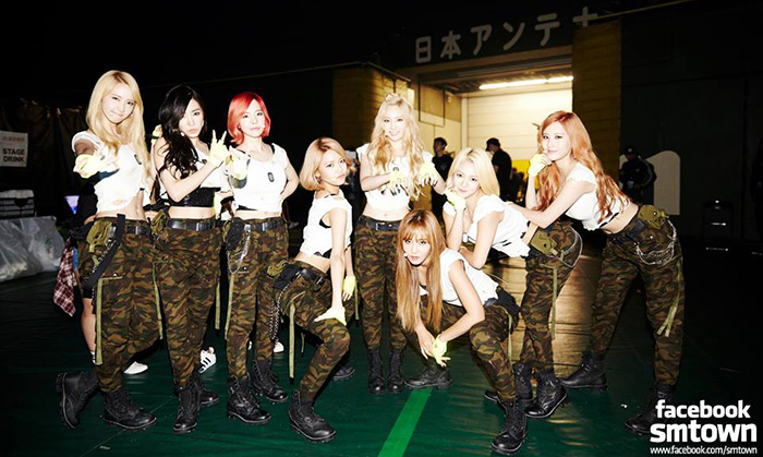 6. 少女時代 'PARTY' 發行: 2015.07.07