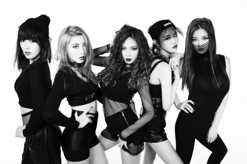沒想到極具個性美的4Minute成員們,綜合的長相散發出來的感覺很不一樣呢!