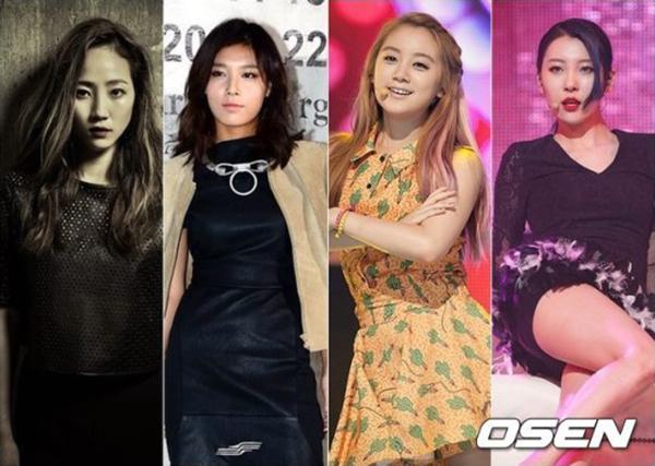 答案是8月份要以這樣的組合回歸的Wonder Girls!