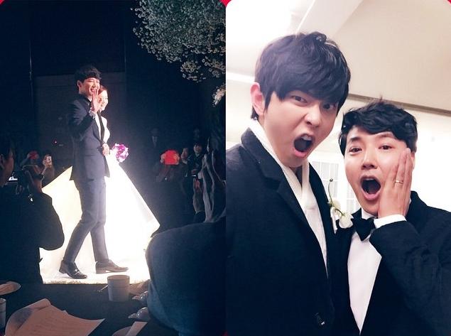 跟演員尹尚賢一起演出tvN電視劇<岬童夷>後,變成絕親BF!!!!  *BF=Best friend