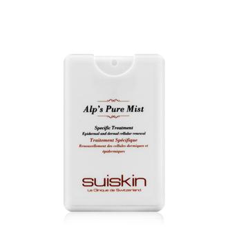 Alp's Pure Mist—Suiskin / 15ml / 約台幣112元  添加天然含氧純水和豐富的礦物離子的成分,讓乾燥的肌膚可以獲得充分的水分,回復肌膚的彈性。小巧輕便好攜帶。