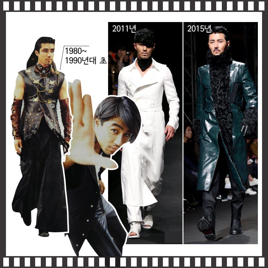 但他在80年代,以及90年代時,可是走秀舞台上超紅的人氣模特兒呢! 模特兒的事業成功後,在1997年以電影<漢城假期>作為演員身分首次出道,但是電影的薪酬僅僅10萬韓元而已...(差不多3000塊台幣)