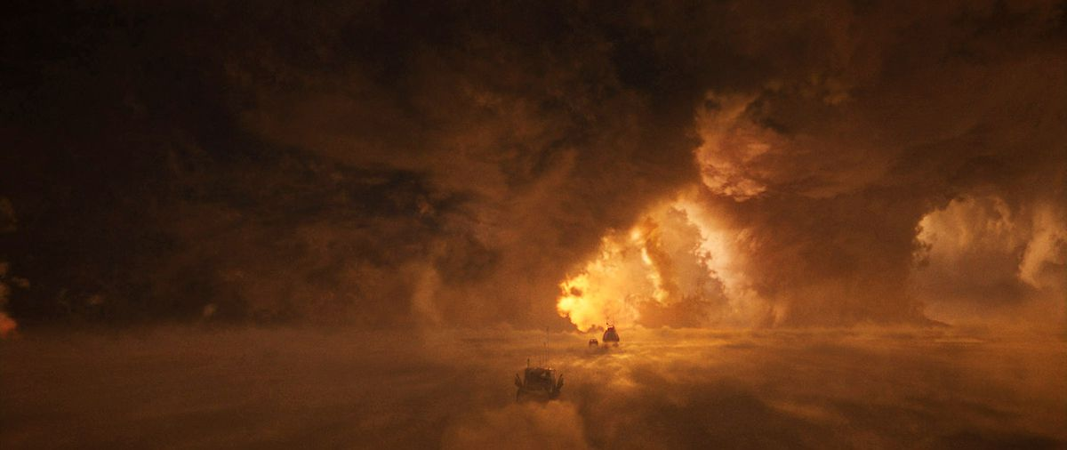 本來就很酷的沙漠,在CG後,瞬間變得超雄偉,有些令人害怕!!!