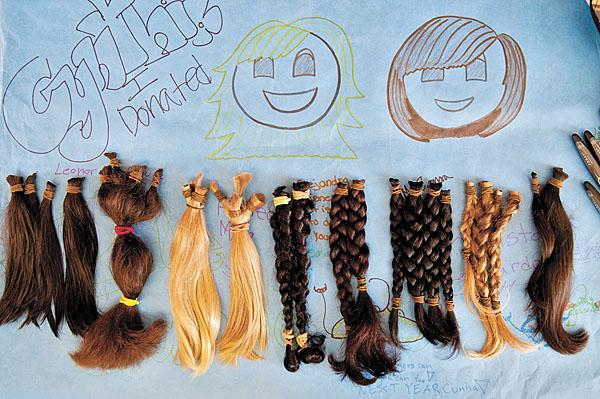因此讓Christian決定參與這個名叫「Children With Hair Loss」的捐髮活動,讓這些正在對抗癌症病魔的孩子們也能夠有頭髮!