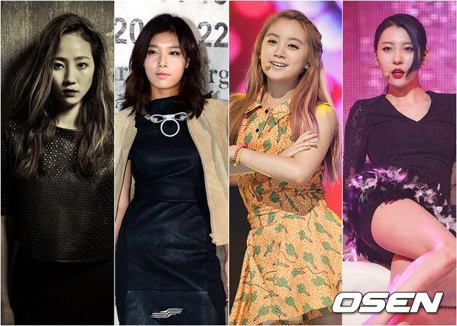 甚至連更換成員求開發的Wonder Girls~ 也都釋出樂團預告影片~蓄勢待發了!