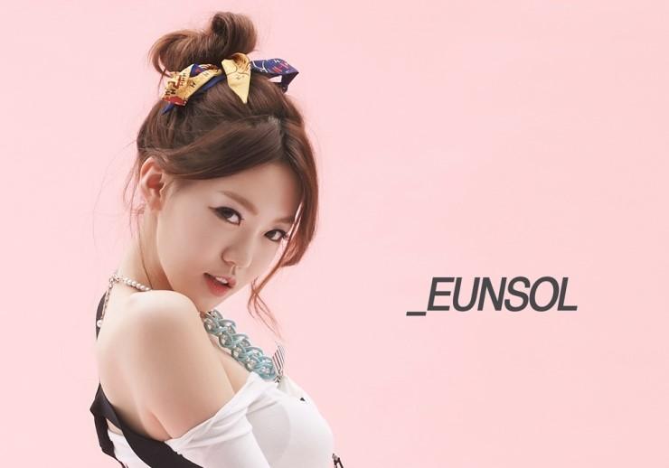 跟Eun Sol(恩率)~一共4人的女團Bambino